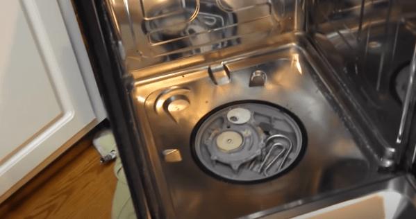 samsung dishwahser not draining