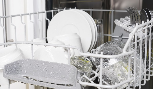 dishwasher leaves dishes wet