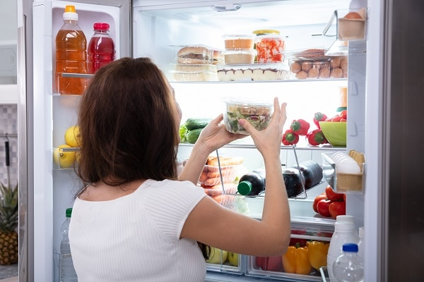 KitchenAid refrigerator smells bad