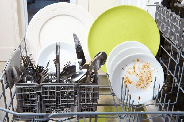 bosch dishwasher leaving food residue